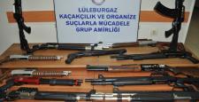 Kırklareli'de silah kaçakçılığı operasyonu