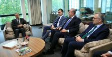 Bakanlardan AK Parti Brüksel Temsilciliği ziyareti