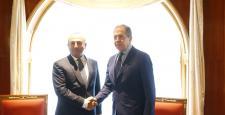Dışişleri Bakanı Mevlüt Çavuşoğlu ve Rusya Dışişleri Bakanı Sergey Lavrov, Rusya'nın Soçi şehrinde görüşmeye başladı.
