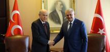 Başbakan Yıldırım Devlet Bahçeli görüşmesi başladı