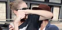 Milan'daki defileden ayrılan ünlü model Gigi Hadid sokakta kavga etti