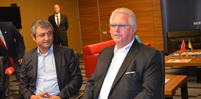 Alman firması 120 milyon euroluk yatırım için Balıkesir'e geldi