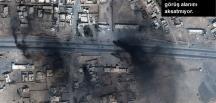 Musul operasyonundan sonra uydudan Musul'un görüntüleri aktarıldı