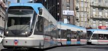 Bağcılar Kabataş tramvayı yeraltına iniyor