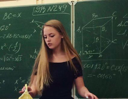 Sosyal medyaya yüklenen video ile Belaruslu öğretmen Oksana Neveselaya büyük beğeni topladı
