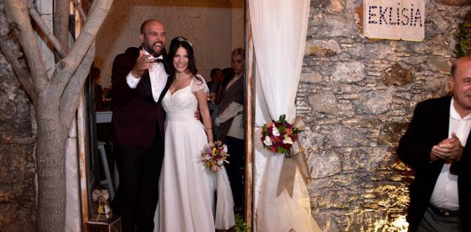 400 yıllık Kilise'de nikah kıydılar