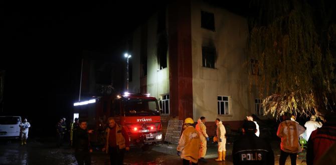 DERLEME – Adana'da özel öğrenci yurdunda çıkan yangınla ilgili haberlerimizi derleyerek yeniden yayımlıyoruz. Saygılarımızla. AA Adana'da özel öğrenci yurdunda yangın