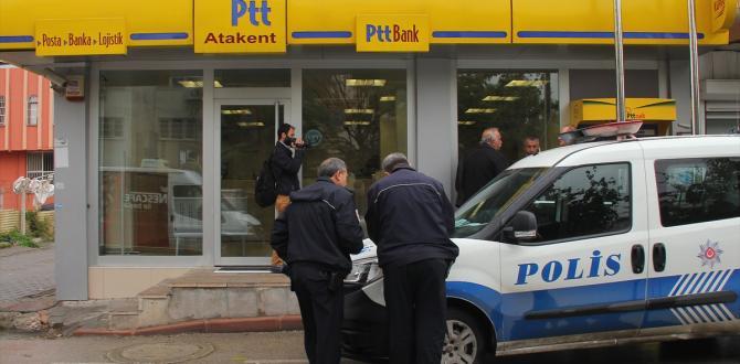 Adana'da PTT soygunu
