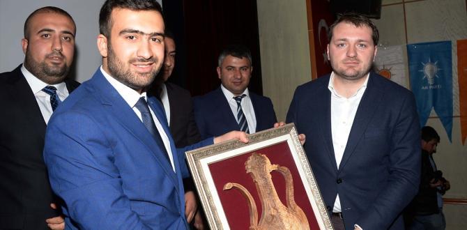 AK Parti Gençlik Kolları Genel Başkanı Ecertaş, Bitlis'te