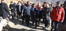 Bakan Müezzinoğlu, Siirt'teki maden faciası bölgesinde