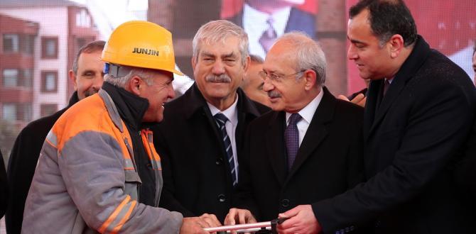 Çankaya Belediyesi Atatürk Kültür Merkezi temel atma töreni