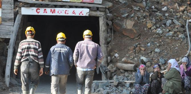 Denizli'de maden ocağındaki göçük