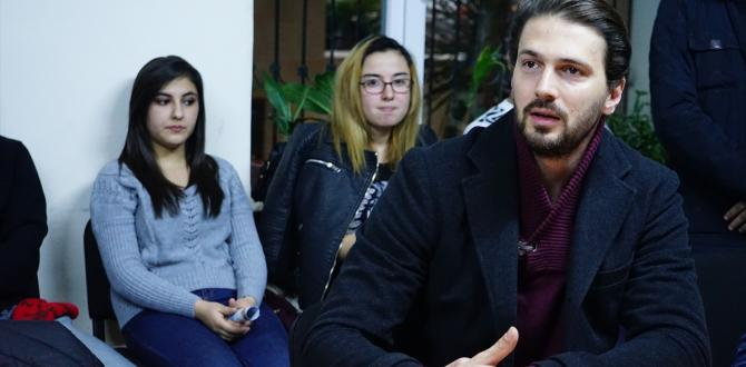 Emre Kızılırmak Azerbaycan'da hayranlarıyla buluştu