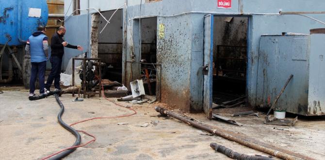 Fabrikada kazan patladı: 1 ölü, 1 yaralı