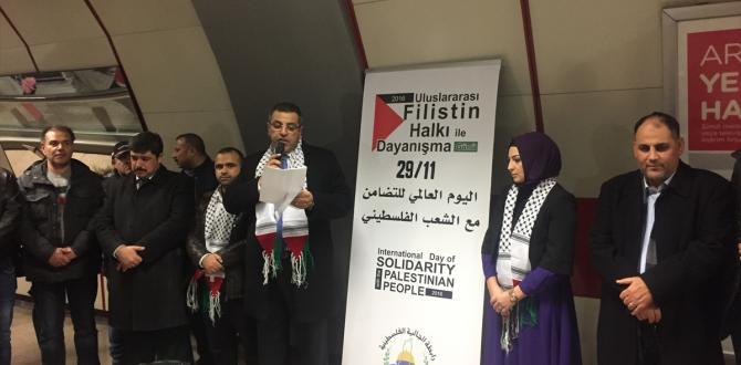"""""""Filistin Halkıyla Uluslararası Dayanışma Günü"""""""