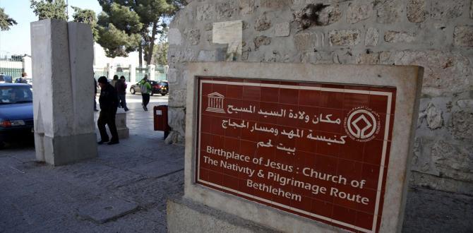 Filistin'deki Doğuş Kilisesi'ndeki mozaikler gün yüzüne çıktı