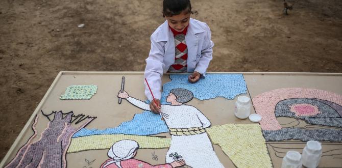 """Gazze'de """"Filistin kültürel mirası""""etkinliği"""