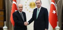 Erdoğan – Bahçeli görüşmesi sona erdi