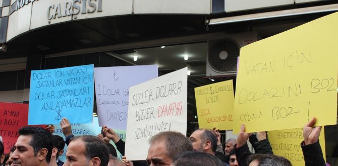 """""""Haydi Diyarbakır Ülken için Dövizini Bozdur"""" kampanyası"""