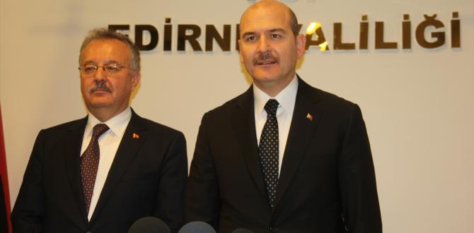 İçişleri Bakanı Soylu Edirne'de: (1)