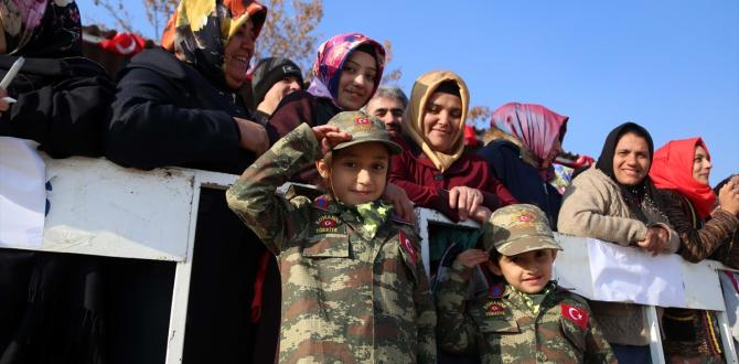 Isparta'da 5 bin asker yemin etti