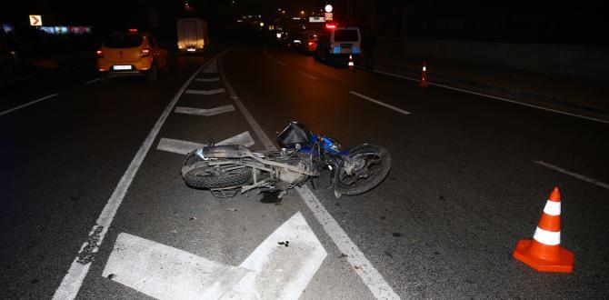 İstanbul'da feci kaza! Refüje çarpan motosiklet sürücüsü öldü