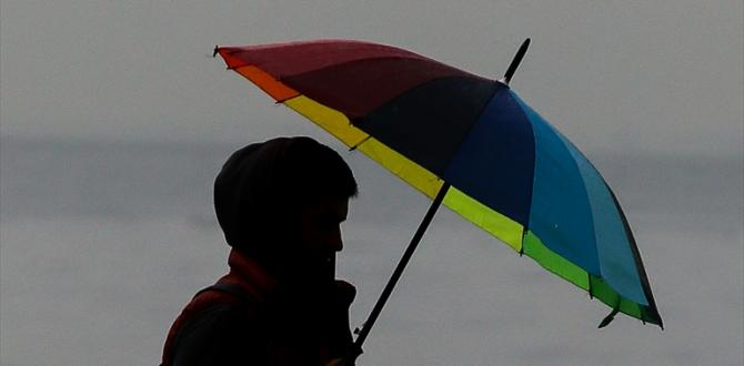 İzmir'de yağış