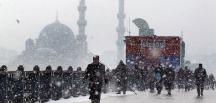 İstanbul'da kar yağışı bekleniyor! Peki yarın okullar tatil olacak mı?