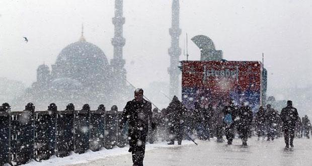 Meteoroloji'den İstanbul için kritik uyarı! 20 cm üzerinde kar yağacak