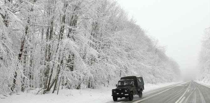 Kırklareli'de kış