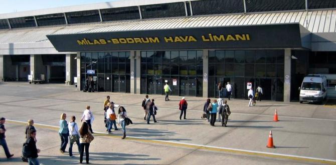Bodrum-Milas Havalimanı Dış Hatlar Terminali 31 Mart 2017'ye kadar kapatıldı!