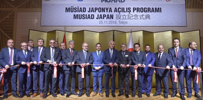 MÜSİAD Tokyo şubesini açtı
