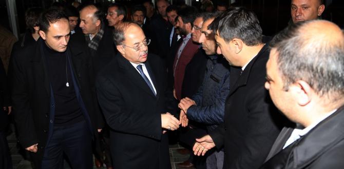 Sağlık Bakanı Akdağ, Erzurum'da