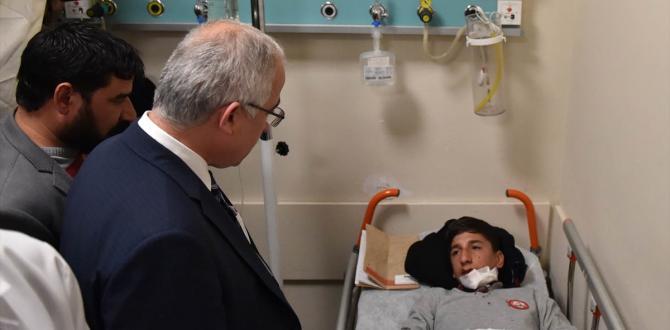GÜNCELLEME – Şanlıurfa'da okul servisi devrildi: 26 yaralı