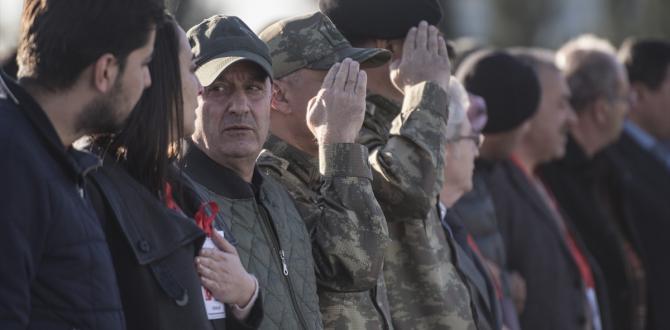 Şehit Astsubay Topuz için Gaziantep'te tören düzenlendi