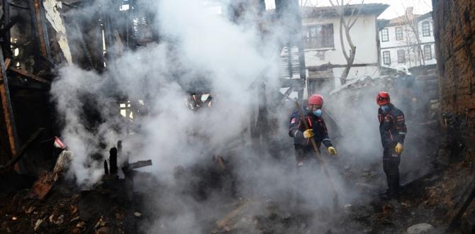 GÜNCELLEME – Sinop'ta yangın