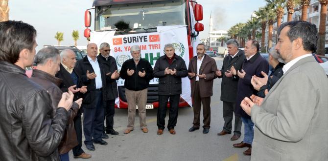 """""""Suriye'ye Acil Un Yardımı Kampanyası"""""""