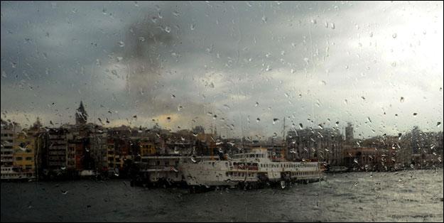 Meteoroloji uyardı! İstanbul'da yağmur alarmı