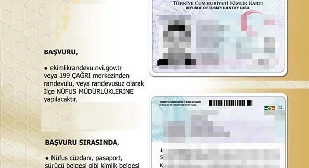 Yalovada yeni kimlik kartlarının başvurusu başladı