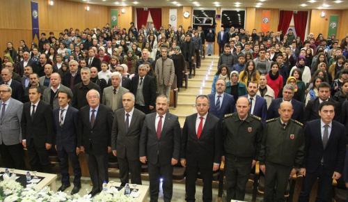 """""""15 Temmuz Sürecinde Demokrasi ve İnsan Hakları"""" konferansı"""