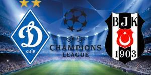 Dinamo Kiev – Beşiktaş maçı ne zaman saat kaçta hangi kanalda?