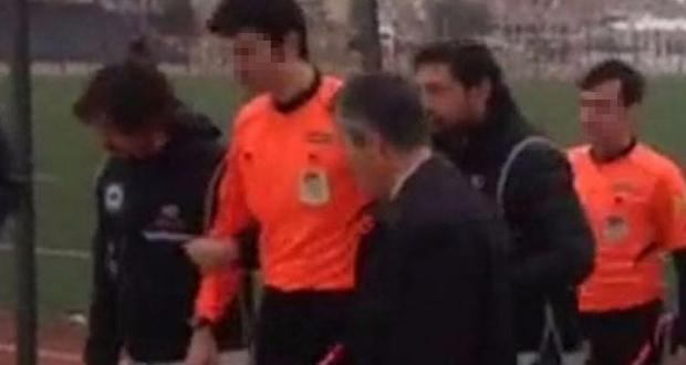 İzmir'de hakem maç sırasında FETÖ'den gözaltna alındı
