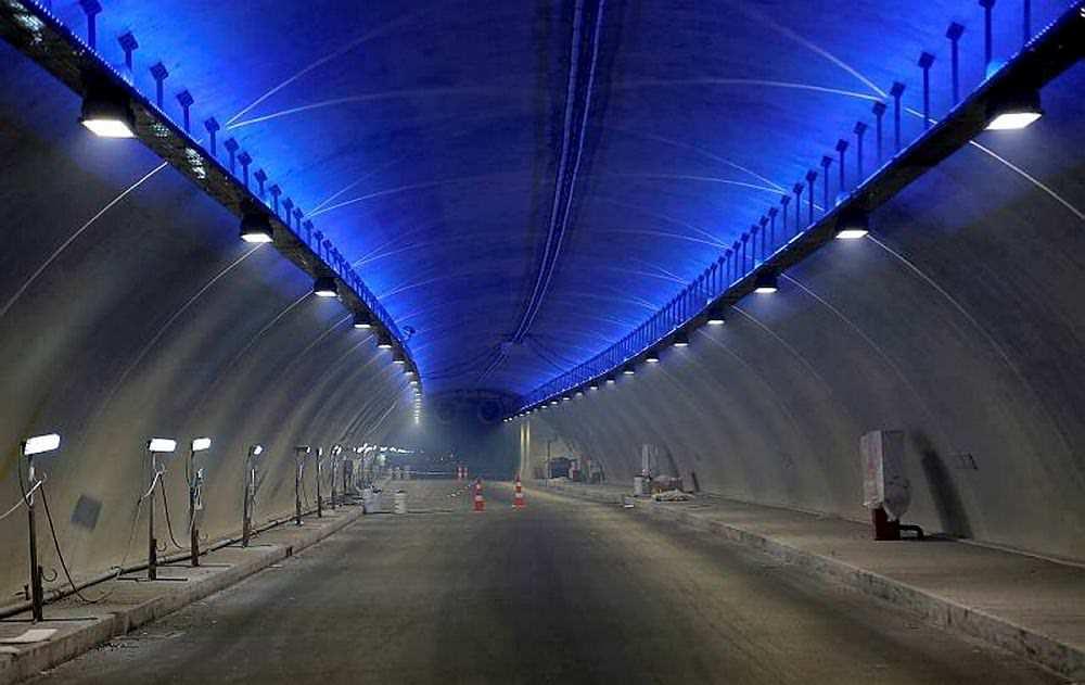 Boğaz'ın yeni incisi Avrasya Tüneli'nin içi görüntülendi