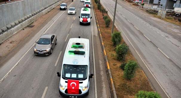 Adana'da öğrenci yurdundaki yangında hayatını kaybeden çocuklar son yolculuklarına uğurlanıyor