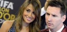 Lionel Messi ile Antonella Roccuzzo evleniyor