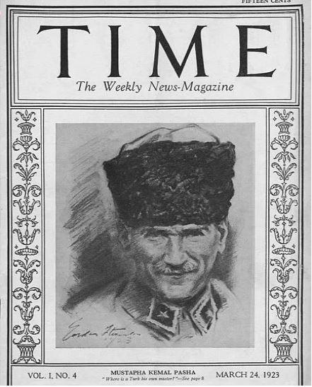 Time dergisine kapak olmuş 10 Türk