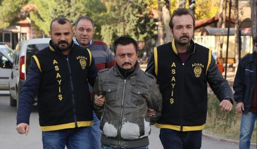 Adana'da genç kadını öldürüp parçalara ayıran zanlı adliyeye sevk edildi