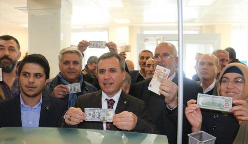 """Adıyaman'da Erdoğan'a """"Yalnız değilsin"""" desteği"""