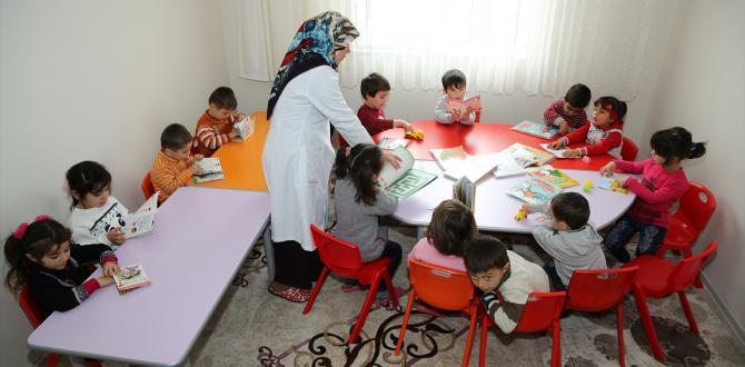 Ahıska Türkü çocuklar için kreş