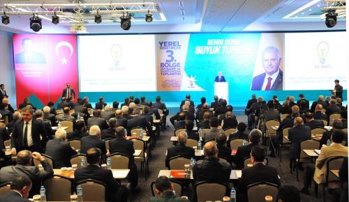 AK Parti Yerel Yönetimler 3. Bölge İstişare ve Değerlendirme Toplantısı